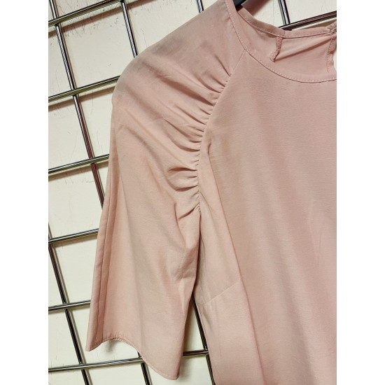 Dusty pink short sleeve top sizes 6-20