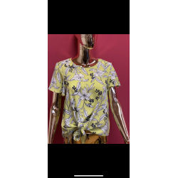 Printed top with tie up sizes 10-26