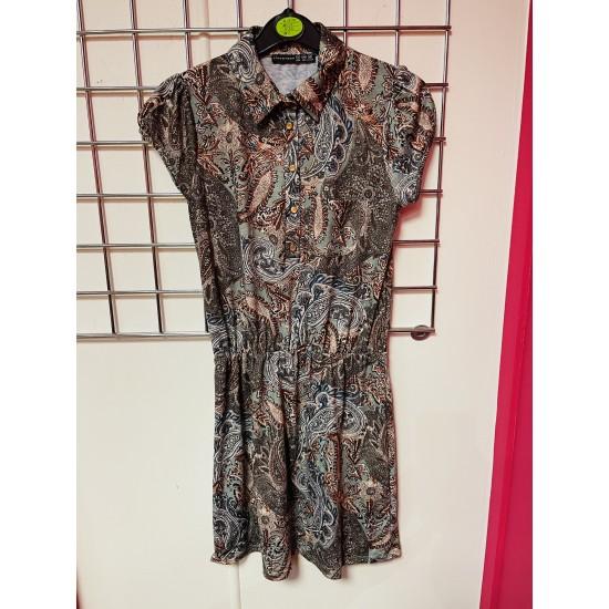 Printed dress sizes 8-20