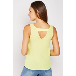 Neon sleeveless top with tie up 6-20
