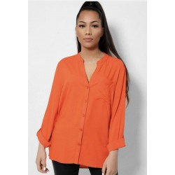 Long sleeve top with pocket sizes 8-20