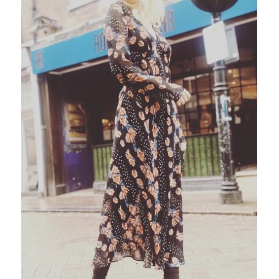 Printed maxi dress sizes 6-14
