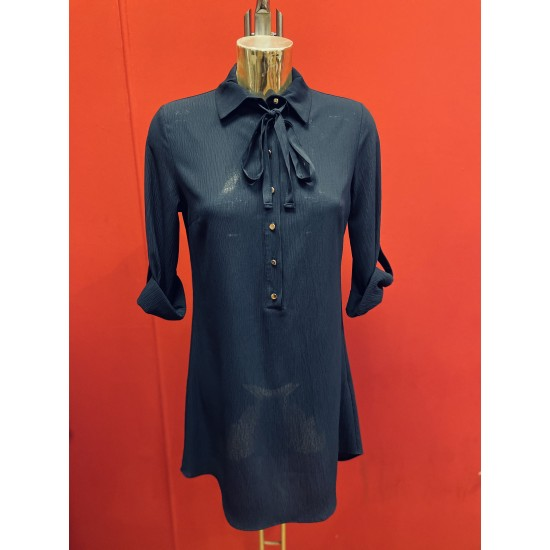Shirt dress in 2 colours