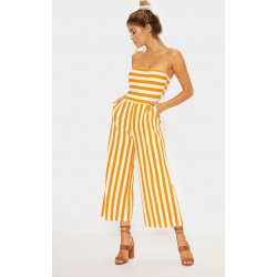 Striped jumpsuit sizes 4-14